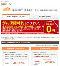 楽天 銀行 住宅 ローン 審査