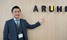 ARUHI(アルヒ)に取材をしてきました!!写真は、アルヒ株式会社マーケティング本部マネージャーの高橋健史様